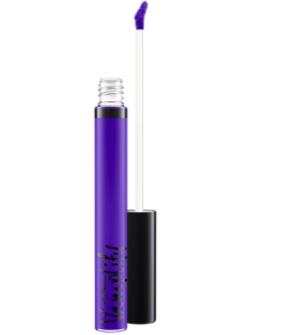 Blauer Lipgloss
