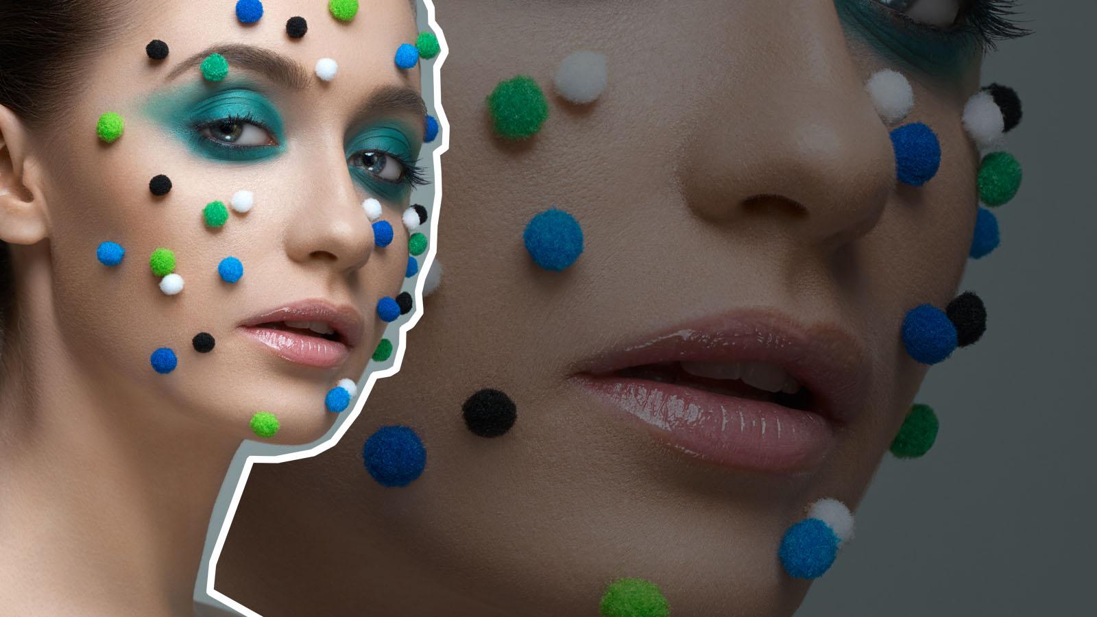 Pom-Pom-Makeup
