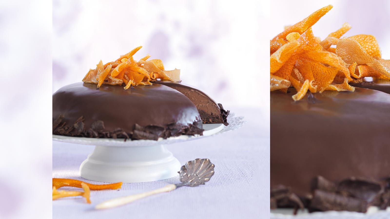 mousse au chocolat torte mit orange maxima. Black Bedroom Furniture Sets. Home Design Ideas