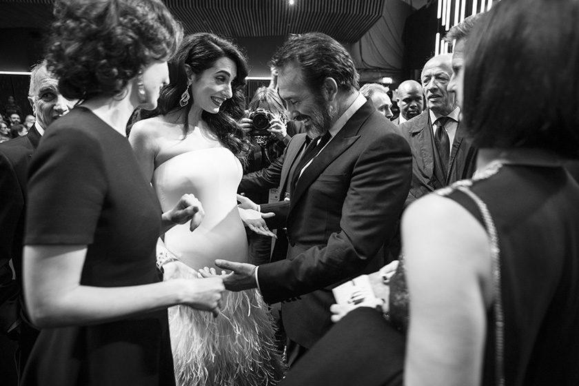George Clooney Amal schwanger Zwillinge