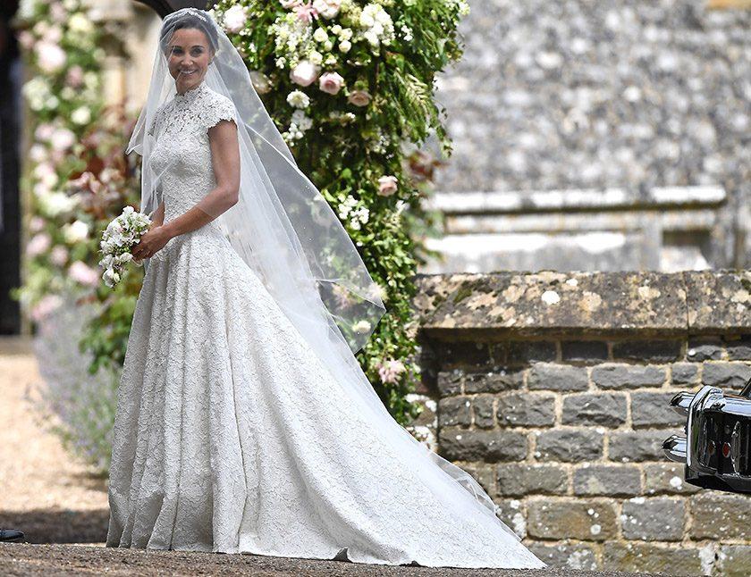 Hätten wir auch gerne: Die schönsten Designer-Brautkleider der Stars