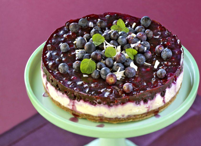 Heidelbeer-Torte