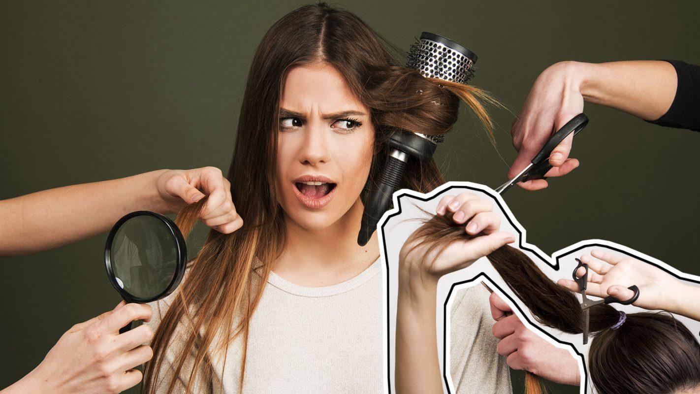 8 Fehler Beim Haarstyling Die Dich Sofort älter Aussehen Lassen