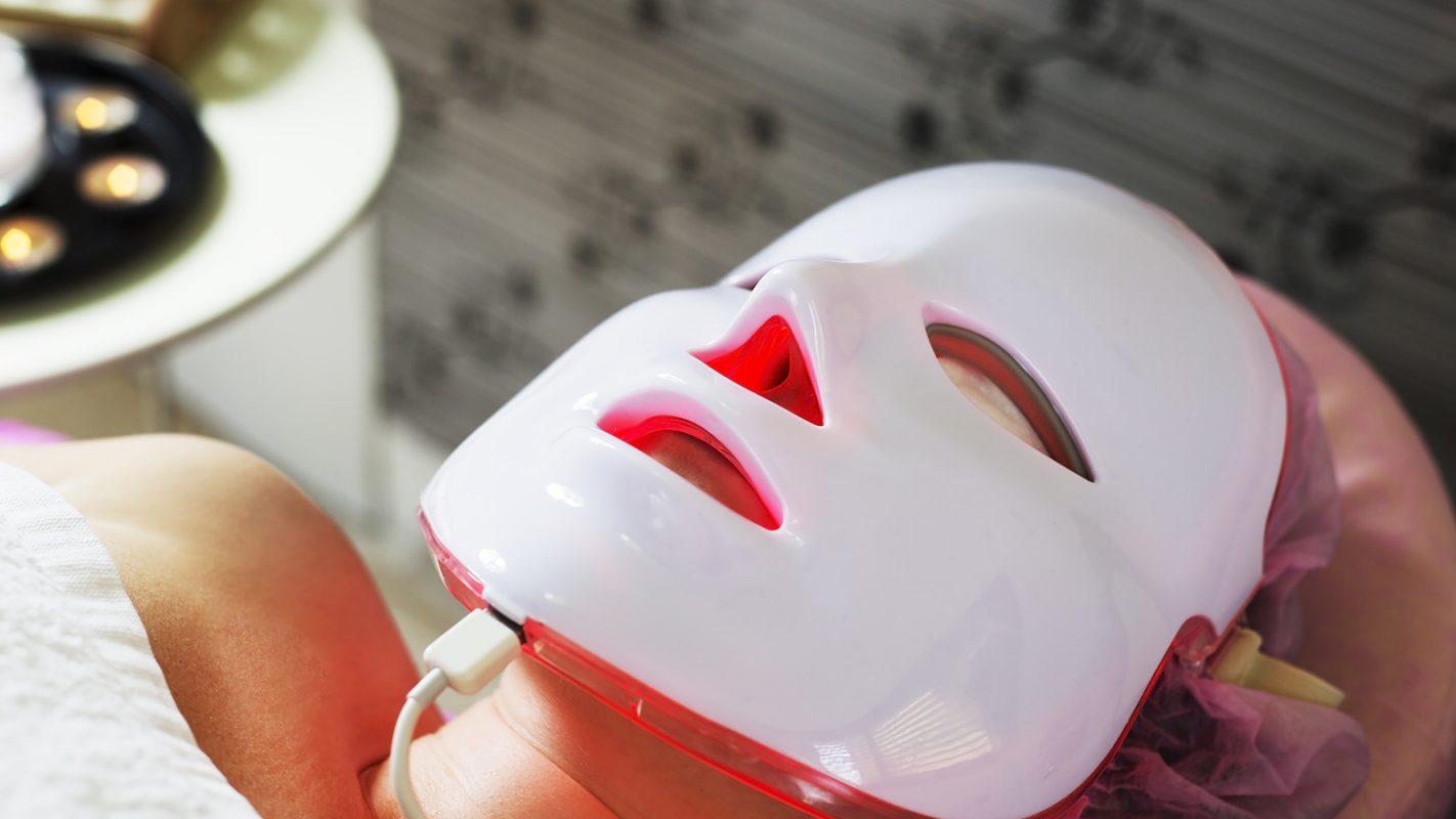 Lichttherapie Maske