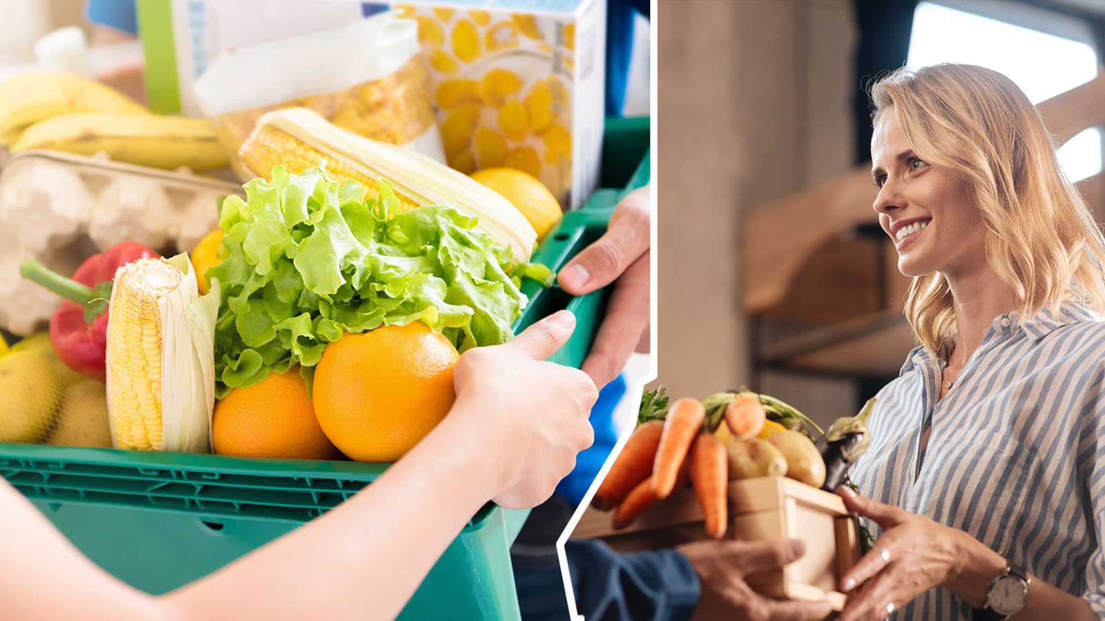 Lebensmittel-Heimlieferung