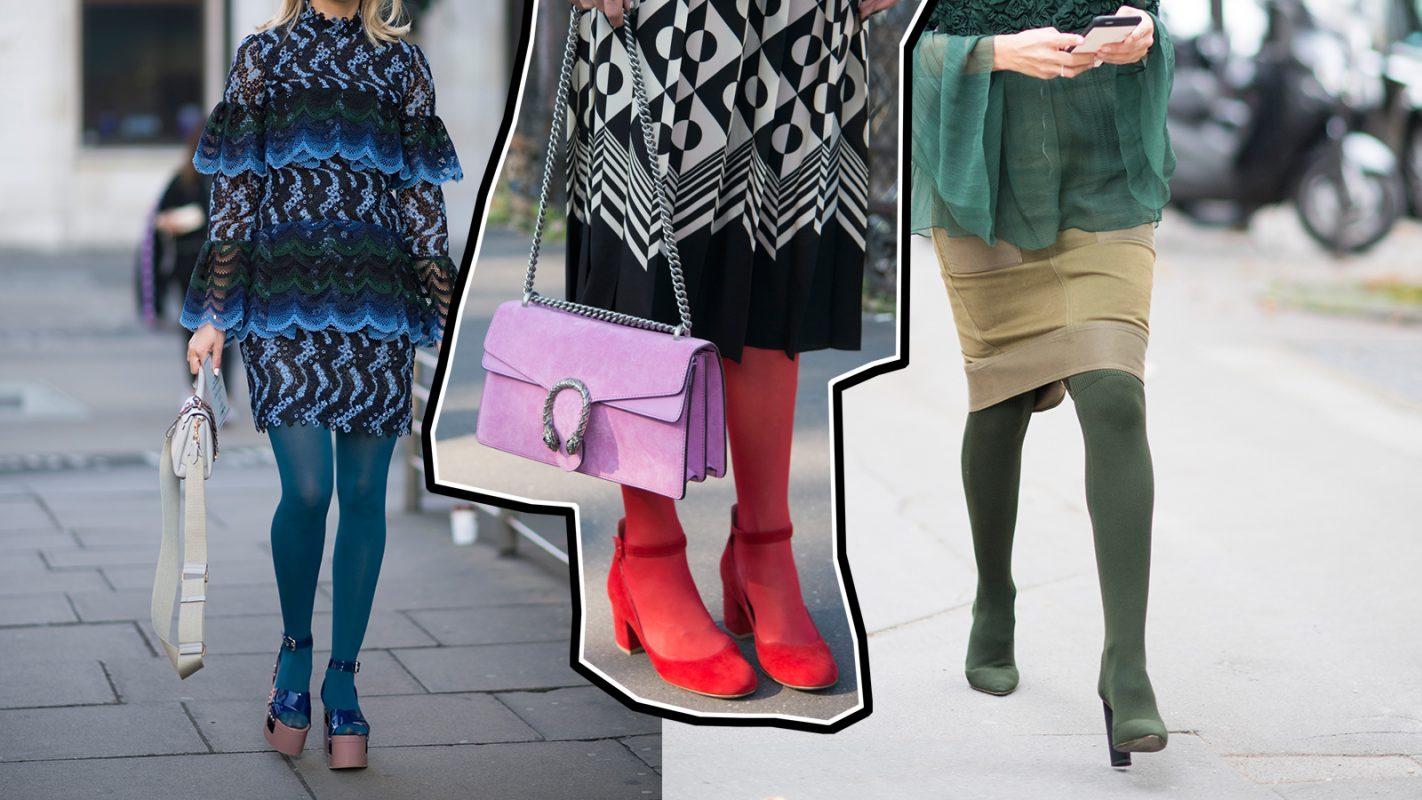 niedrigster Rabatt begrenzter Verkauf neueste trends von 2019 Bunt und munter! So stylen wir farbige Strumpfhosen