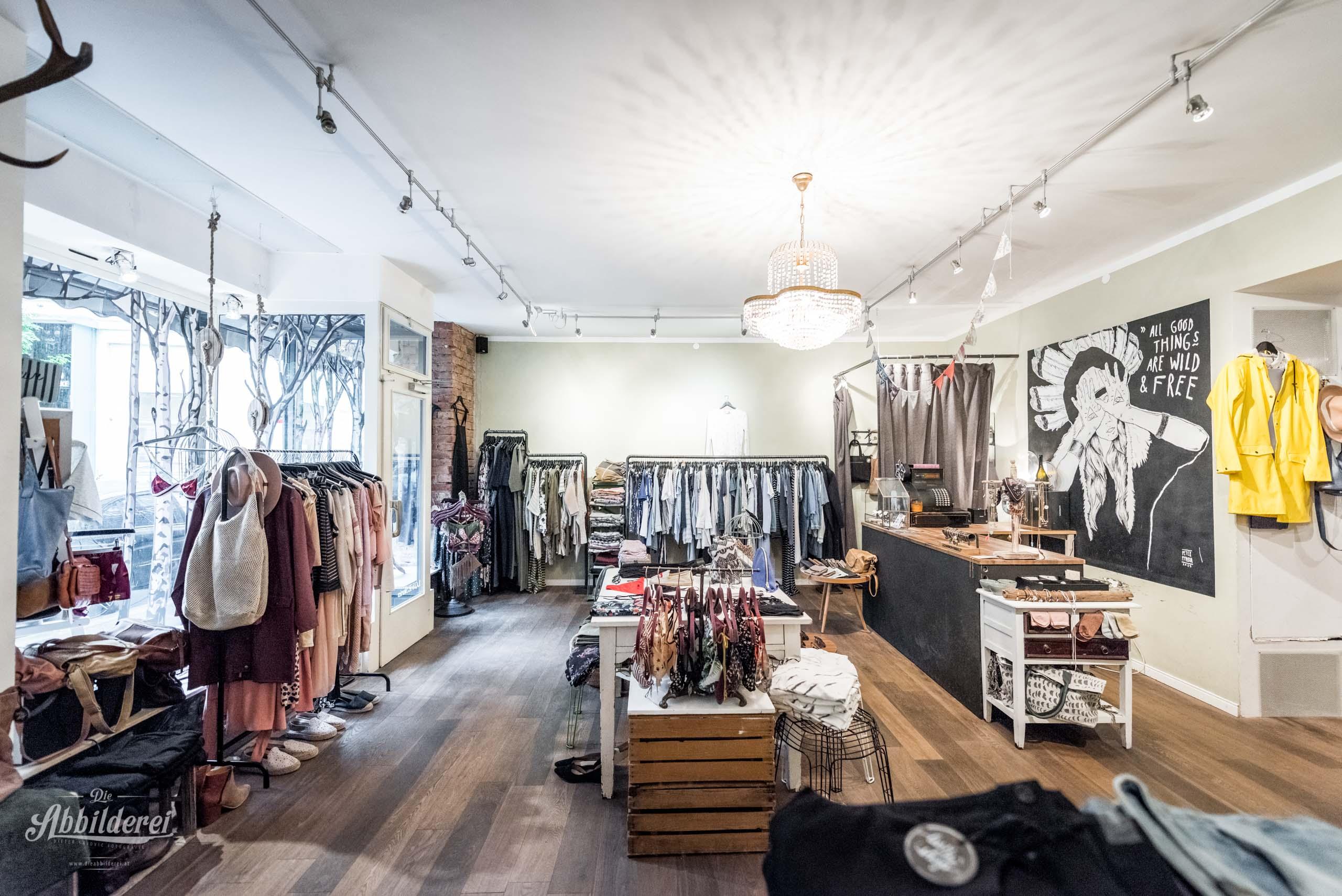 Magentafarbenes Kleid von Luv The Shop