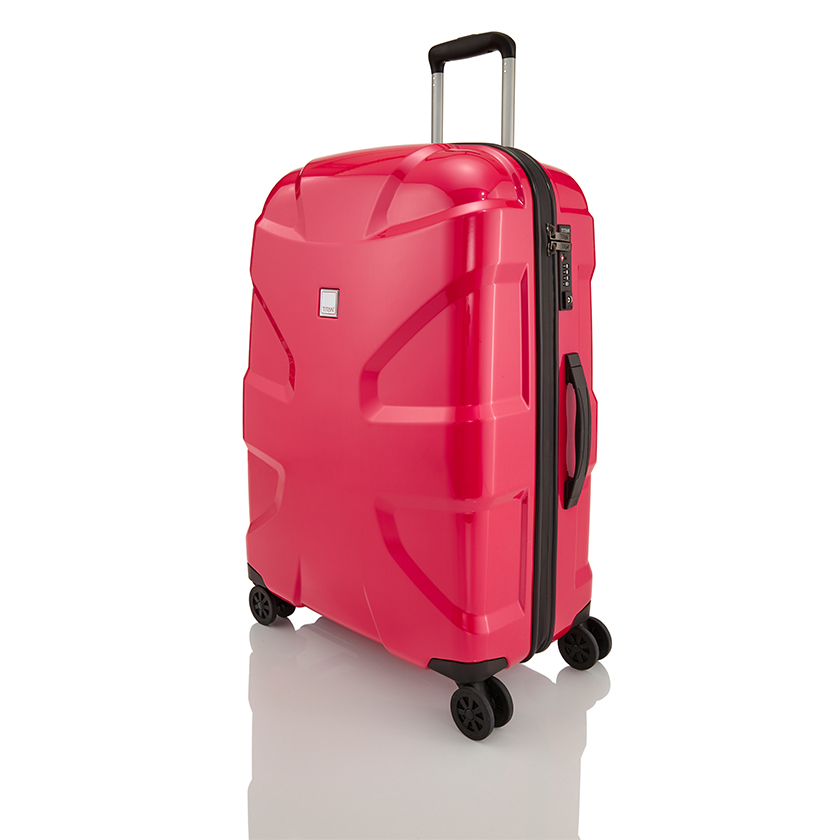 Hartschalenkoffer M+ und passendes Beautycase von Titan Bags