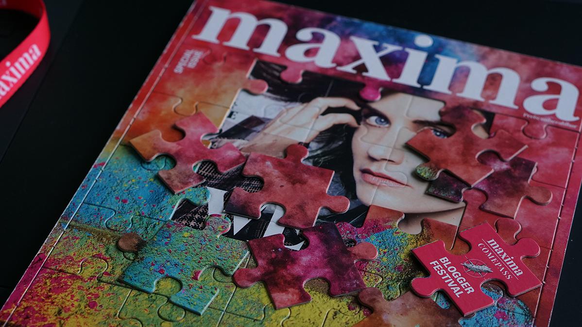maxima comepass Bloggerfestival