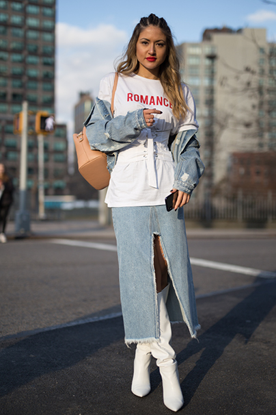 New York Fashion Week Streetstyles