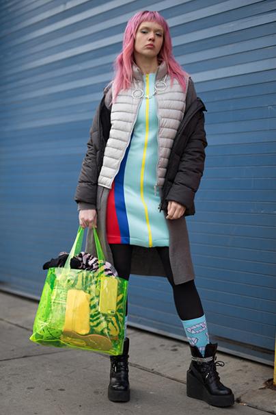 New York Fashion Week Streetstyles