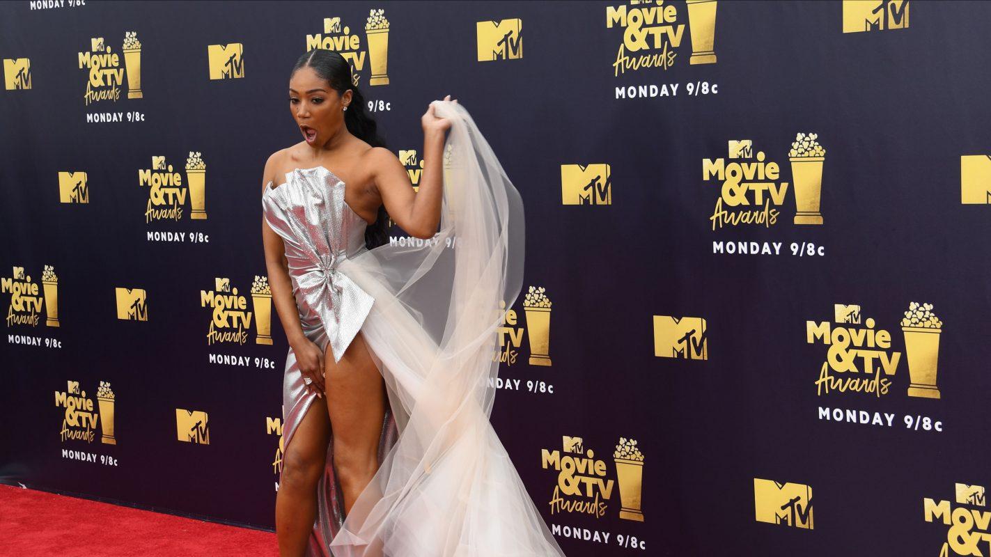 Tiffany Haddish Holt Die Mtv Movie Awards Zurück Aus Der Versenkung